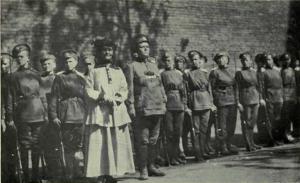 Emmeline Pankhurst and Bochkareva